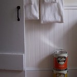 Bamboo Flooring and Mythic Pain in Redone Bathroom using green products