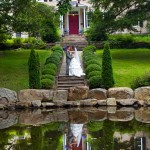 holly-hedge-green-wedding-country-inn-pond-fountain