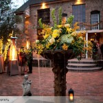 holly-hedge-wedding-country-romantic-winter-brick-terrace-fountain-flowers-heaters-warmth-twinkle-lights