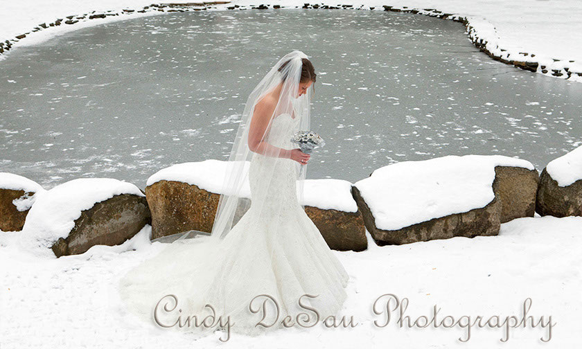 Holly Hedge Wedding Country Romantic Winter Rustic Chic